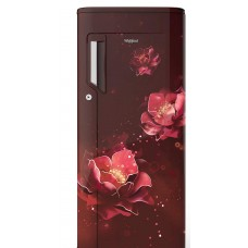 Whirlpool  200L 3 Star Direct-Cool Single Door Refrigerator (215 IMPC PRM 3S WINE ABYSS, Abyss)