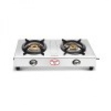 Preethi Gas Stove Glare With 2Bruners-Stainless Steel