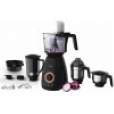 Philips food processor, 750W, 4 Jars (Black) HL7707/00