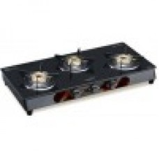 V-Guard VGM 3C Stainless Steel Manual Gas Stove (3 Burners)