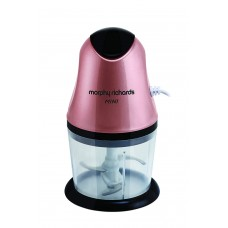 Morphy Richards Mini Chopper Rose Gold Electric Vegetable Chopper  (1 set)