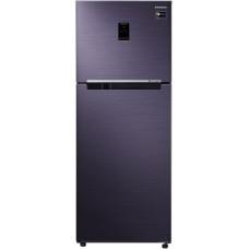 Samsung 394 L 2 Star (2020) Frost Free Double Door Refrigerator(RT39M5538UT/TL, Pebble Blue, Convertible)