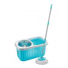 Prestige Plastic Magic Mop-Spin Bucket  (PSB 11,Blue)